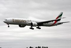Emirates A6-ECL, OSL ENGM Gardermoen (Inger Bjrndal Foss) Tags: a6ecl emirates boeing 777 osl engm norway gardermoen
