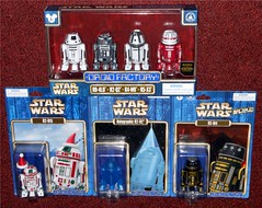 Disney - Droid Factory (Darth Ray) Tags: disney park exclusive star wars droid factory figures force awakens r04l0 r2q2 r5x3 holiday 2015 r2h15 holographic r2d2 may 4th r5m4 maythe4th r4m9 4pack