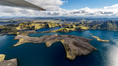 Langisjr lake | Iceland from Above (Julien Ratel ( Jll Jnsson )) Tags: islande iceland inspiredbyiceland julienratel jullijonsson julienratelphotography blueju blueju38 canon eos7dmarkii efs1022 icelandic islenska islenski lveldisland landscape paysage landslag landslagsmynd spring wandering earthpix welivetoexplore icelandexploring neverstopexploring flightseeing icelandfromabove aboveiceland atlantsflug reconnaissanceflight flight sightseeingflight highlandsoficeland langisjr lake blue green fromtheair
