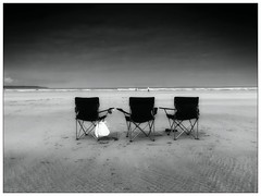 The Directors Cut (Livesurfcams) Tags: beach devon directorschair sand emptyseats negativespace reggieperrin iphone apple