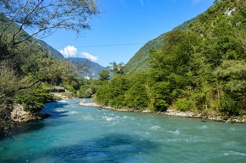 River Bzyb, Abkhazia