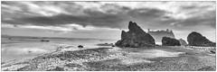 Ruby Beach - In Explore Sept 11/16 (jbarc in BC) Tags: rubybeach beach ocean sea pacific washington rocks tide clouds olympicnationalpark sand surf longexposure