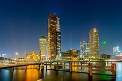 Rotterdam Night (Peet de Rouw) Tags: rotterdam nacht night kopvanzuid montevideo wpc rijnhaven katendrecht peetderouw denachtdienst canon5dmarkiii holland