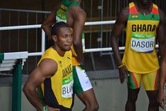DSC_4759 (lenpereira) Tags: rio2016 olimpiadas2016 2016olympics atlestismo athletics teamjamaica yohanblake nikond3200 olimpadas olympics atletas athletes 200m 200mrasos