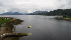 Le loch Lomond (LILI 296 ...) Tags: lochlomond highlands ecosse lac eau water brume bateau paysage canonpowershotg7x