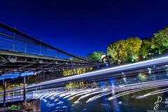 """""""Comme ailleurs"""" (Damien Parra Carilao) Tags: lyon europe france photography photographe photographer onlylyon tourisme saone photographie art sky bluesky architecture archilovers smile lile barbe bridge pont boat bateau water tree"""