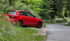 IMG_2292-Modifier (jet_447) Tags: audi s3 audis3 18t 2016 canon canon6d 70200 car automobile rouge red voiture speed vitesse nature arbre vert green jante essence