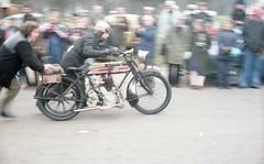 Unknown Reg: AH 1555 (bertie's world) Tags: sunbeam pioneer run 1979 epsomdowns motorcycles reg ah1555