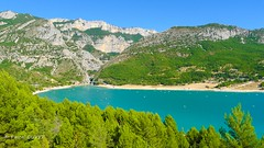 Le lac de Sainte Croix ... (Pascal Duvet) Tags: lac sainte croix gorges verdon moustiers marie vue paysage panorama alpes haute provence 04 pascal duvet