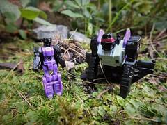 Titans Return - Apeface (Klinikle) Tags: transformers hasbro titans return decepticon apeface headmaster ape gorilla jet toy