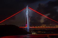 DSC03466-2 (UmitCukurel) Tags: bridge turkey istanbul bosphorus sony nikon lightroom d750 sonyalpha bogazici kopru night poyrazkoy battleship gemi sky sunset dusk gunbatimi cloud