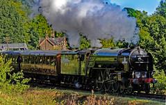 Tornado leaving Highley (b) (mervyn_w) Tags: tornadolocomotive severnvalleyrailway hamptonloade shropshire englishmidlands steamrailway