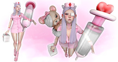 Miko Miko nurse ! (N G H T M R) Tags: secondlife sl cute kawaii arcade tsg hentai
