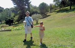 Walking through the meadow. (Angela Curado) Tags: angelacurado father dog manelcurado yuri prado walk yerba paseo naturaleza salud felicidad happiness peace landscape barcelona