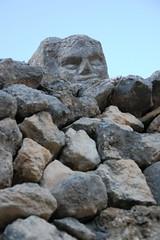 DSC_0884 (Sciabby) Tags: sicily sicilia sciacca filippobentivegna facce faces stone pietra castelloincantato artbrut