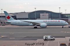 Boeing 787-9 (Dreamliner) C-FHPY Air Canada (EI-DTG) Tags: planespotting aircraftspotting toronto yyz 22sep2016 torontopearsoninternationalairport aircanada boeing ontario b787 boeing787 dreamliner cfpqb