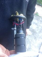 Fuel Pump Assembly (john.and.kath) Tags: jrd ls ls2 l77 60l engine conversion fuel system filter plumbing efi 1965 chevrolet impala