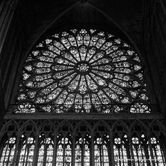 The North Rose Window (Armin Hage) Tags: notredamedeparis notredame cathedral nave glass frenchgothic architecture gothic catholic paris france northrosewindow rosewindow rayonnant