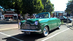 Zephyr (BenGPhotos) Tags: 2016 car event show loughton classic green 1953 ford zephyr convertible tpg973