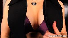26 (opulentfetish) Tags: pantyhose highheels longhair blackhair goddesscheyenne pov rearend ass crotchless dungeon zipper breasts skirt posing bra legs legshow closeup atlantadominatrix opulentfetish