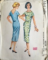 4529 (mrogers1@uw.edu) Tags: 1950s dresses mccalls