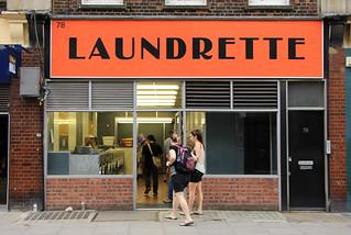 Laundrette, 78 Marchmont Street, WC1