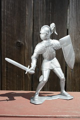 "6"" Knight (Marx 1964) (Donald Deveau) Tags: marx knights toys vintagetoy"