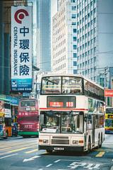 VOLVO Olympian_ALEXANDER RH_HM165 (hans-johnson) Tags: hk hong kong hongkong hongkongisland island central des voeux road desvoeuxroad desvoeuxroadcentral jubilee street transit transport transportation               doubledeck doubledecker double deck decker volvo olympian kmb kowloon motor bus kowloonmotorbus av av244 hh4769 alexander rtype type bodywork chassis mong kok mongkok 3axles d10a voith