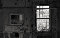 Never left (Gareth Priest) Tags: bw reflection abandoned urbex urbanexploration urbandecay mood dark mysterious