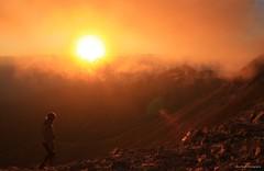 Sunset over Pirin (Doni Filipov) Tags: landscape nature mountains forest people hiking trekking explore travel adventure camping climbing summer autumn mist fog pirin national park bulgaria canon photography