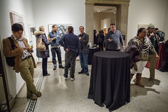 010313_9115_MAM First Thursday (Montclair Art Museum) Tags: art museum paper gallery nightout nj free latenight workshop activity montclair combat veteran georgiaokeeffe artworkshop montclairartmuseum sayawoolfalk veteranart mamfftn freefirstthursdaynights combatpapernj