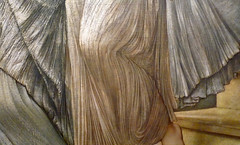 Burne-Jones, The Golden Stairs, detail with drapery