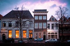 Holland (jonas_k) Tags: street city houses light urban holland tree home netherlands car facade licht canal strasse stadt baum fassade niederlande gracht gouda