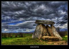 Sorginetxe.HDR (lautada) Tags: alava euskadi dolmen araba sorginetxe salvatierra agurain arrizala