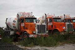 concrete mix cement mixer ready peterbilt cementtruck concretetruck mcneilus mixertruck ferrarabros trucknyc