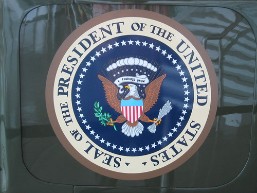Presidential Seal that will soon be represented by President-Elect Donald Trump