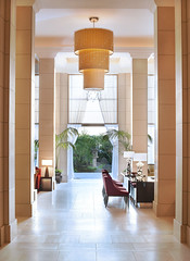 The St. Regis Osaka—Reception 12th floor