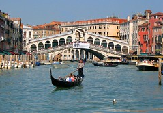 By Gondola at the Rialto Bridge (wbirt1) Tags: venice rialtobridge gondola rialto billbirtwhistle