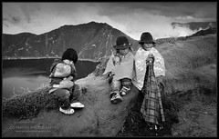 Equanimity (Native Photo) Tags: travel vacation people mountain holiday mountains kids children volcano kid ecuador child native sierra caldera andes volcanic patience indigenous volcn andesmountains quilotoa equanimity lagunaquilotoa provinciadecotopaxi cotopaxiprovence quilotoalagun