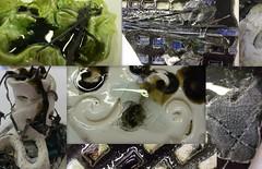 Close up of fused glass on ceramics (Akvile Zukauskaite) Tags: akvile zukauskaite 1093799415