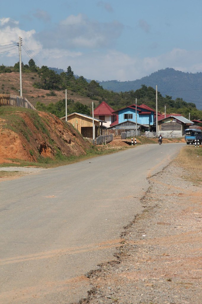 The main drag, Muang Sui (Nong Tang), Northern Laos