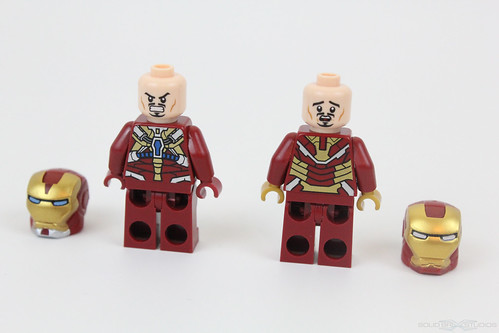 LEGO Iron Man 3 Suits Mark 8 and MK 42 Official 2013 Super Heroes ...