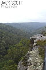 Tianjara Falls (jack.scott) Tags: road trees mist rain rock waterfall bush australia falls nsw newsouthwales outlook southcoast braidwood 24105mm canon7d tianjara