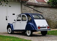 Citroën 2CV 1984 (XBXG) Tags: auto old classic car vintage french automobile citroën voiture 1984 2cv eend geit ancienne 2pk citroën2cv française deuche