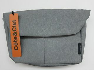 Côte&Ciel - Spree Messenger Bag (Grey Melange)