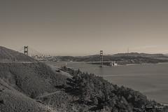 SF B&W (Isaac H..) Tags: sf sanfrancisco bridge bw bay cityhall sfo goldengatebridge goldengate area bayarea