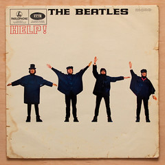 Beatles - Help! (Leo Reynolds) Tags: canon eos ebay iso400 album vinyl cover lp 7d record beatles f80 sleeve platter 33rpm 38mm 0008sec hpexif xleol30x xxx2013xxx