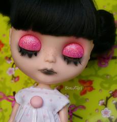 Her eyelids :)