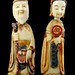 1010. A Pair of Chinese Figural Snuffs