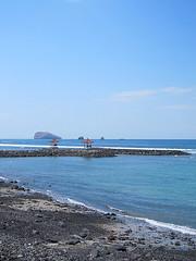 Sea in Bali, Indonesia (natsu) Tags: blue sea sky bali beach indonesia southeastasia bluesky seashore              republikindonesia